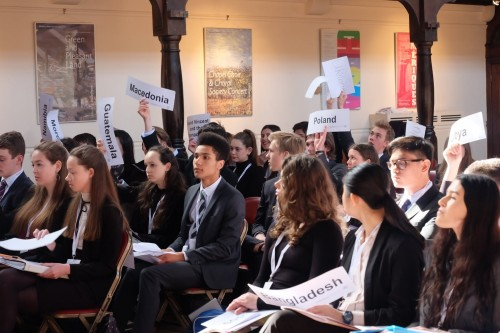 Haileybury Model United Nations  21e editie